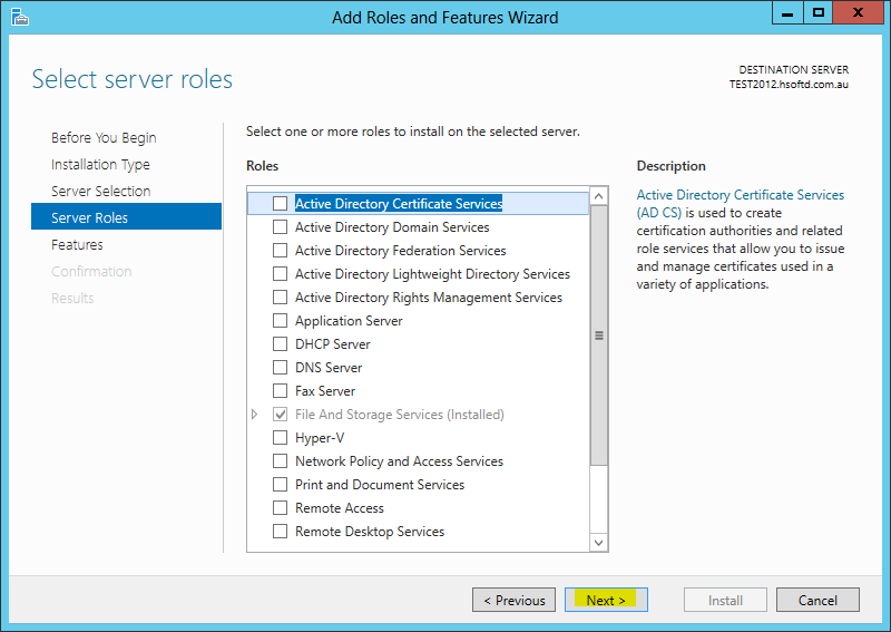 How to install the group policy management console tools gpmc on a windows server 2012 - Installer console active directory windows 7 ...