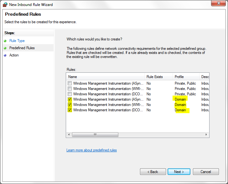 How to Enable WMI through the Windows Firewall with Advanced